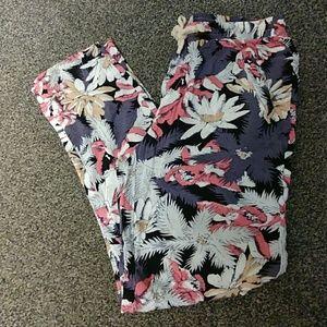 I. Madeline Floral Track Pants